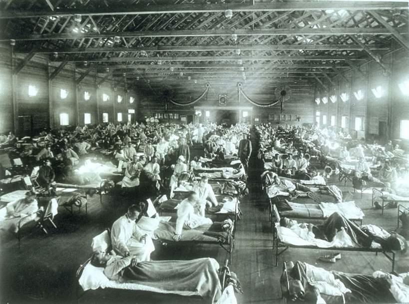 Pandemia hiszpanki, 1918 rok