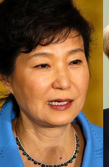 Park Geun-Hye, Dilma Rousseff, Angelina Jolie, Angela Merkel, Hillary Clinton