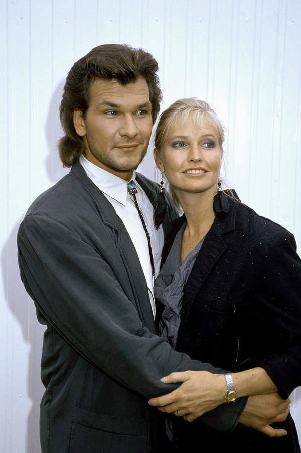 Patrick Swayze i Lisa Niemi, 1987