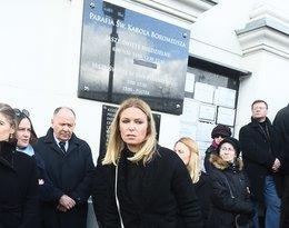 Paulina Młynarska, pogrzeb Wojciecha Młynarskiego, Wojciech Młynarski