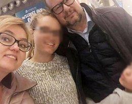 Paweł Adamowicz z rodziną: żoną Magdaleną i córkami Antosią i Teresą