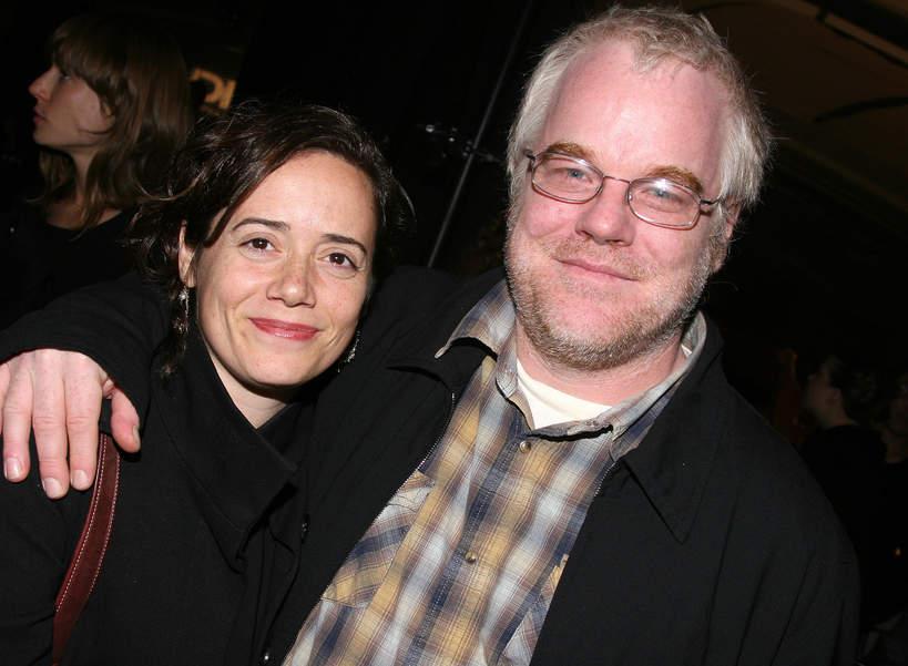 Philip Seymour Hoffman, żona Mimi O'Donelll, 29.10.2007 r., Nowy Jork