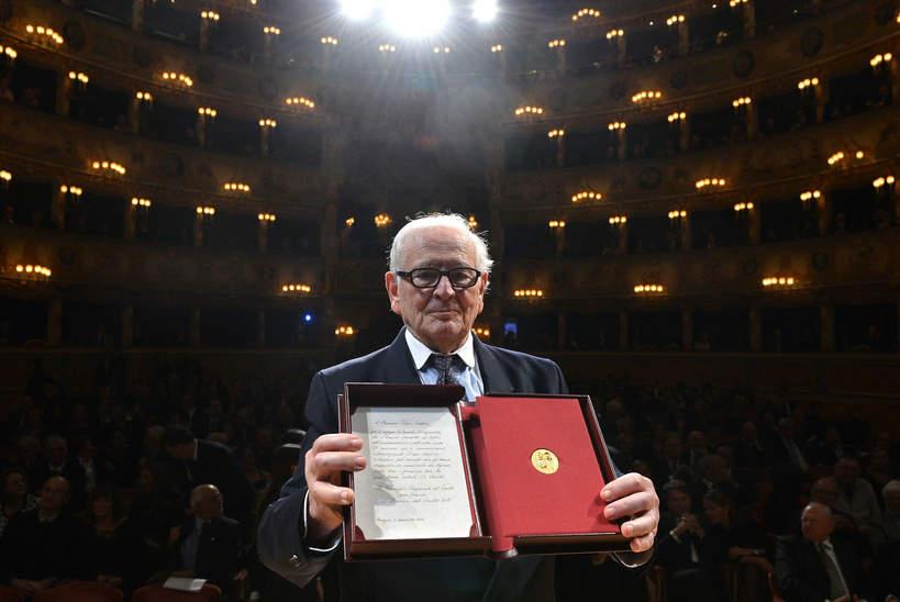 Pierre Cardin, 03.12.2012 r.