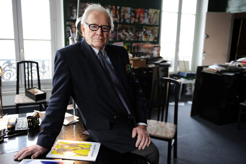Pierre Cardin, 17.02.2010 r.