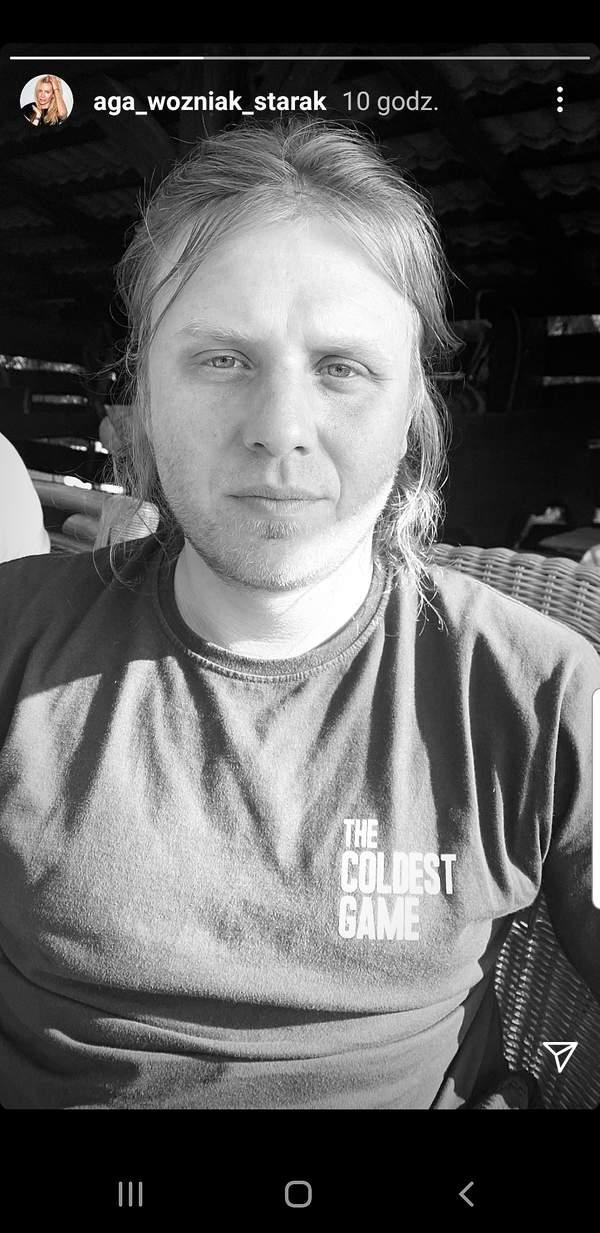 Piotr Woźniak-Starak, zdjęcie z profilu Agnieszki Woźniak-Starak