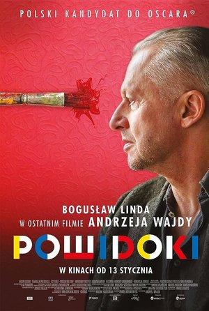 "plakat do filmu ""Powidoki"""