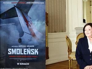 "plakat-""smolensk"";lech-łotocki i ewa dałkowska"