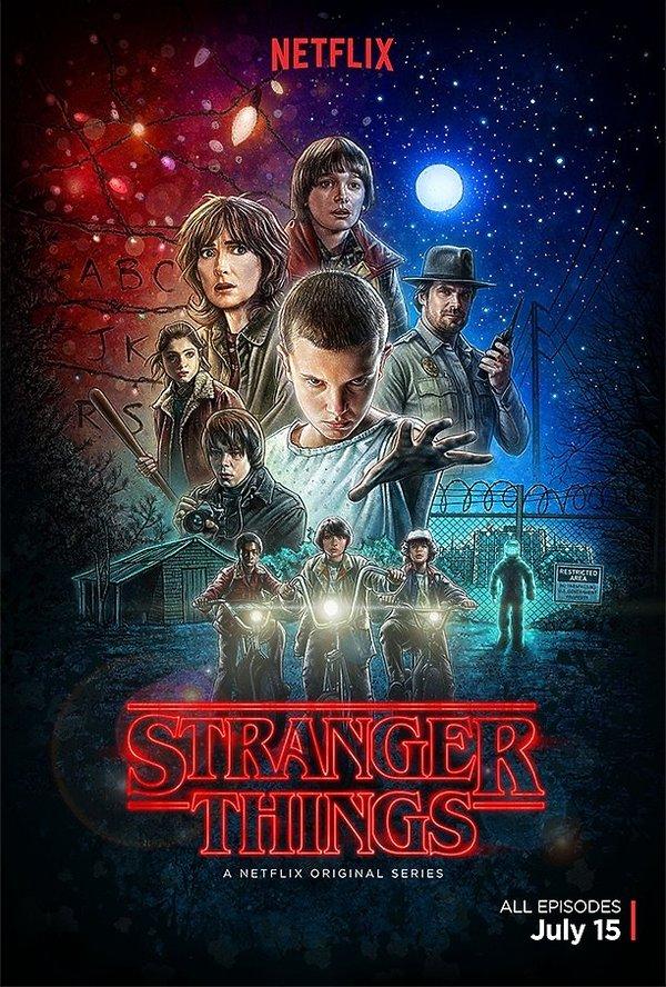"""plakat """"Stranger Things"""""""