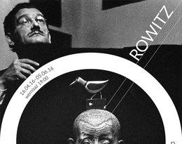"""plakat wystawy """"Portrety nieznane"""" Ryszarda Horowitza"""