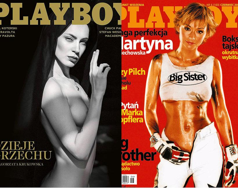 Playboy, Małgorzata Krukowska, Martyna Wojciechowska