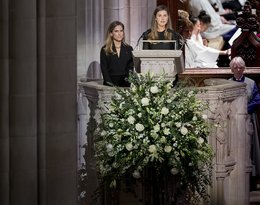 Pogrzeb George'a W. Busha Seniora: wnuczki prezydenta, Lauren Bush i Ashley Walker Bush