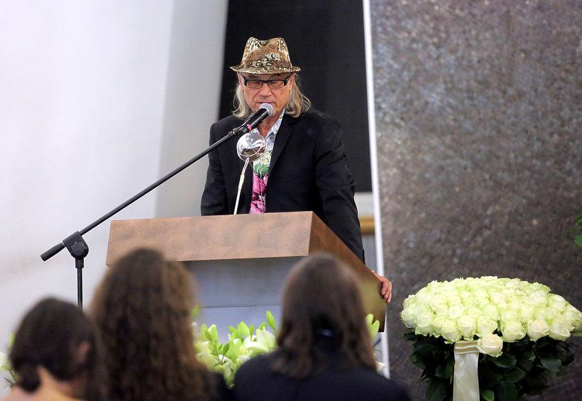 Pogrzeb Kory na Powązkach w Warszawie: Kamil Sipowicz