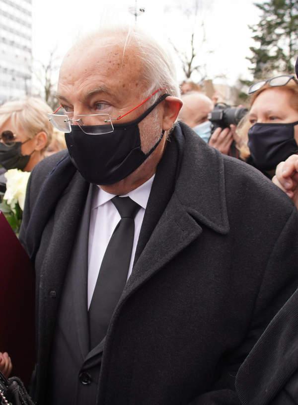 Pogrzeb Krzysztofa Krawczyka, Łódź, 10.04.2021 rok, Andrzej Kosmala