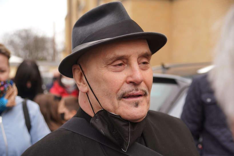 Pogrzeb Krzysztofa Krawczyka, Łódź, perkusista zespołu Trubadurzy, Marian Lichtman