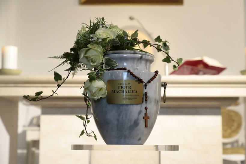 Pogrzeb Piotra Machalicy, 18.12.2020