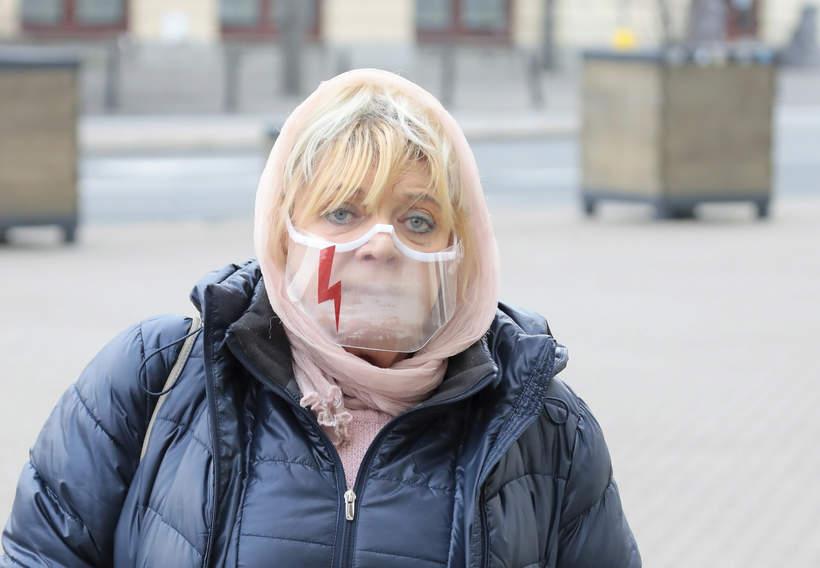 Pogrzeb Piotra Machalicy: Dorota Stalińska, 18.12.2020