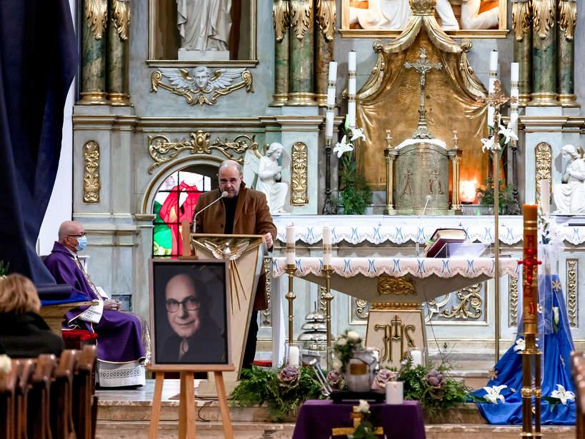 Pogrzeb Piotra Machalicy w Częstochowie, 19.12.2020. Cezary Żak