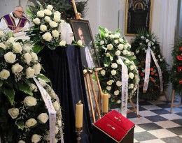 Pogrzeb profesora Romualda Dębskiego