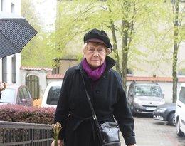 Pogrzeb Witolda Pyrkosza, Teresa Lipowska, M jak miłość