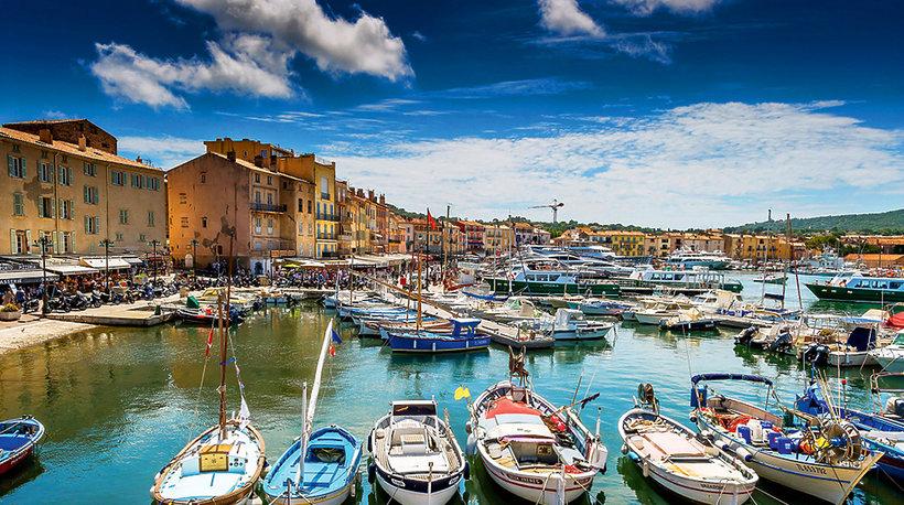 Port w Saint-Tropez