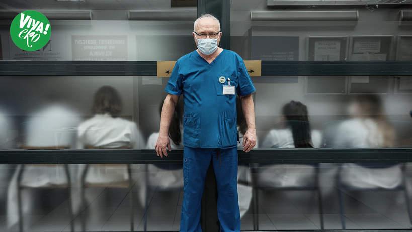 Profesor Krzysztof Simon, VIVA! kwiecień 2021, 7/2021, NAKLEJKA EKO