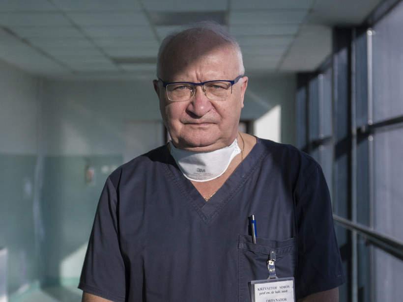 Profesor Krzysztof Simon, Wrocław, szpital zakaźny, 01.12.2020 rok