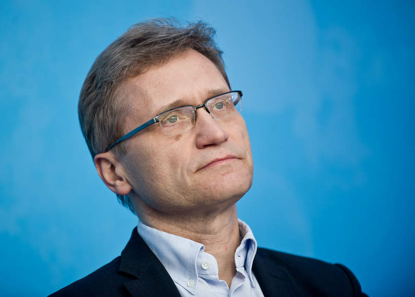 Profesor Zbigniew Gaciong, rektor Warszawskiego Uniwersytetu Medycznego, WUM, 15.04.2013 r.