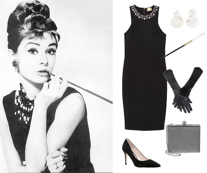 przebranie Audrey Hepburn