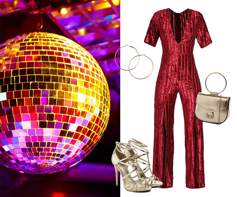 przebranie w stylu disco