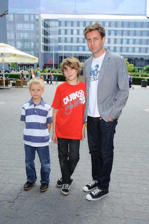 Rafał Królikowski, Piotr Królikowski, Michał Królikowski, Warszawa, 19.06.2010