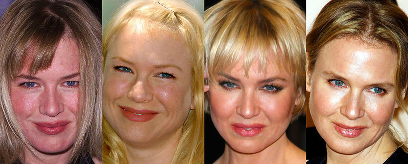 Renee Zellweger, Bridget Jones, metamorfoza Renee Zellweger