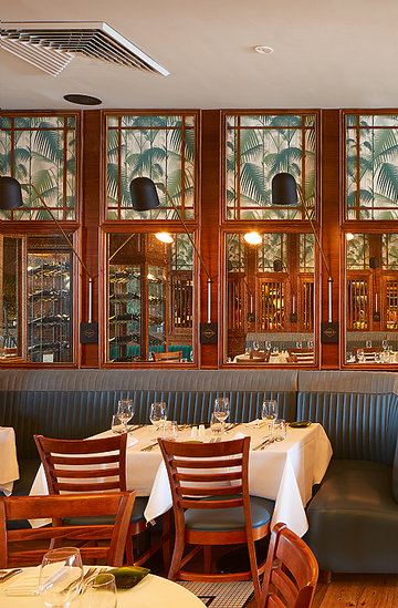 restauracja Marcina Gortata Urbain 40 American Brasserie and Lounge