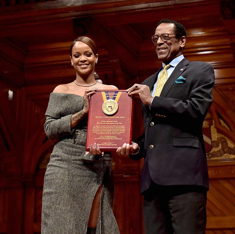 Rihanna z nagrodą Harvardu