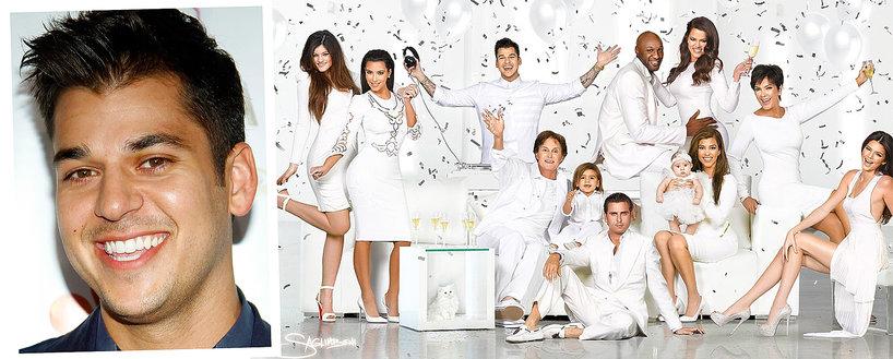 Rob Kardashian, Blac Chyna, Kardashianowie