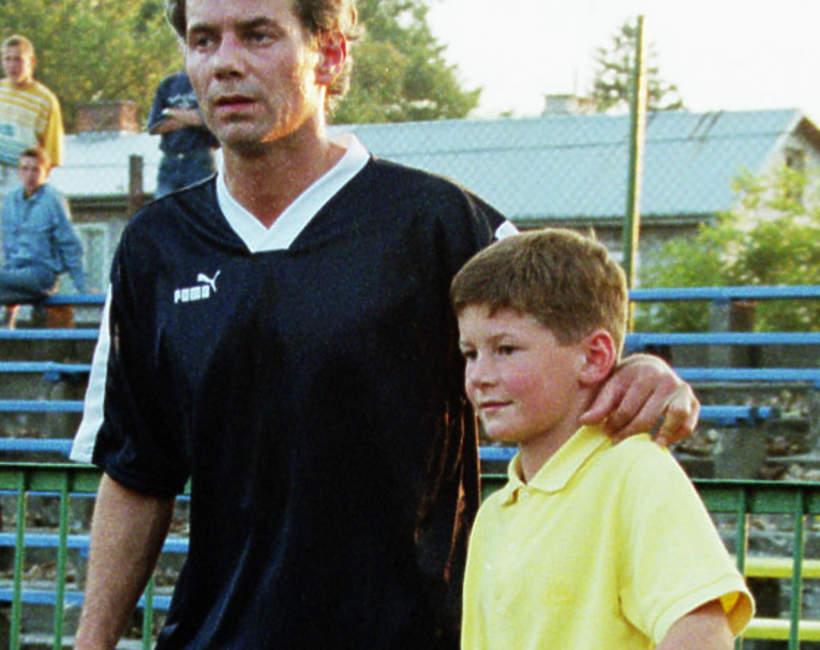 Robert Janowski, Makary Janowski, trening piłkarzy, wrzesień 1999 roku