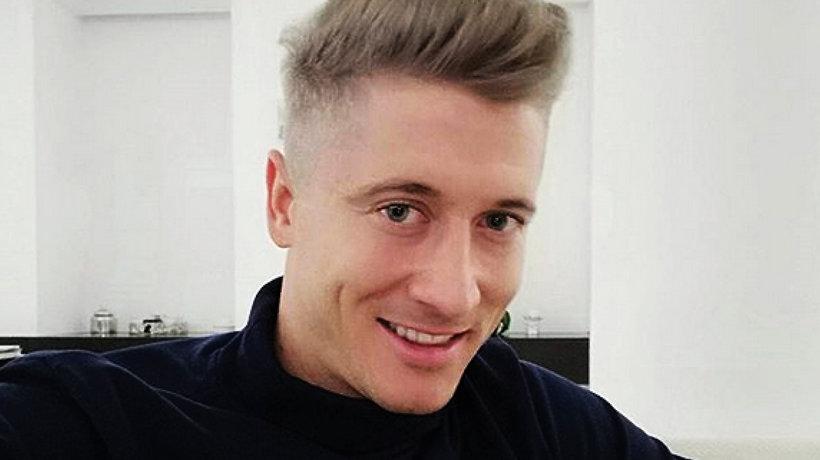 Robert Lewandowski ma nową fryzurę