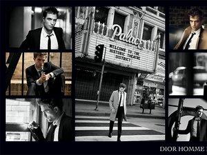 Robert Pattinson dla Dior Homme intense