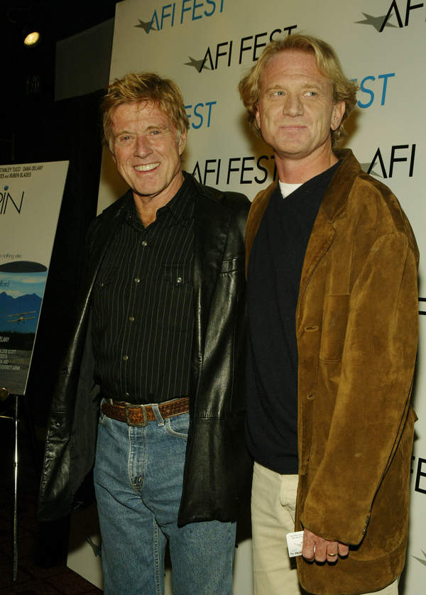 Robert Redford, James Redford, 08.11.2003