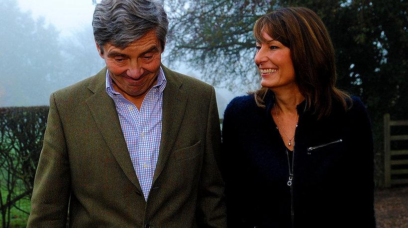 Rodzice księżnej Kate, Michael Middleton i Carole Middleton