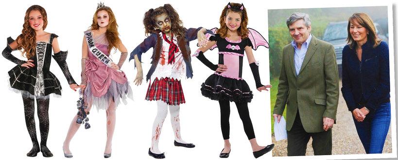 Rodzice księżnej Kate sprzedają kostiumy na Halloween