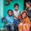 rodzina z miasta Bihar