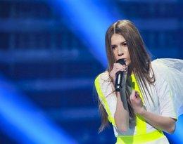 Roksana Roxie Węgiel w trakcie próby generalnej Eurowizji Junior 2018 w Mińsku