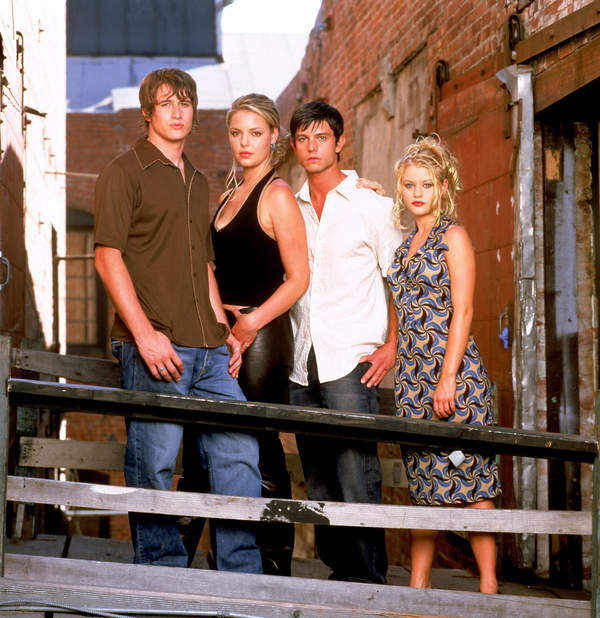 Roswell. W kręgu tajemnic, serial, 1999 rok, obsada: Jason Behr, Katherine Heigl, Brendan Fehr, Emilie De Ravin
