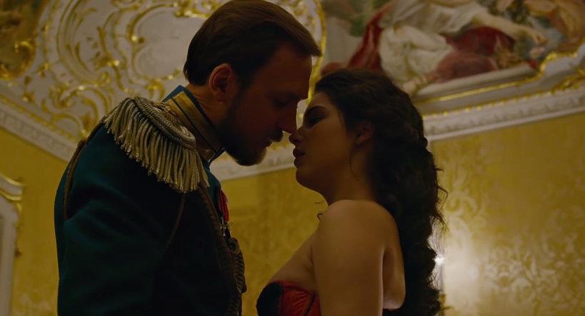 "rosyjski film ""Matylda"": Michalina Olszańska"