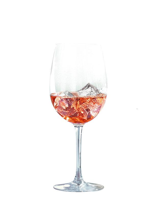 różowy szampan