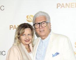 Ryszard Rembiszewski z żoną, Elżbietą Martinez