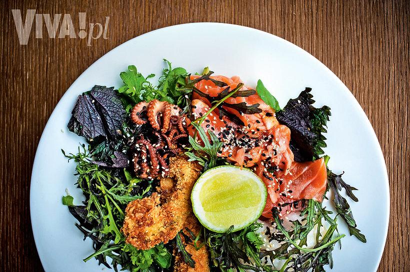 Sałatka Fokim Seafood