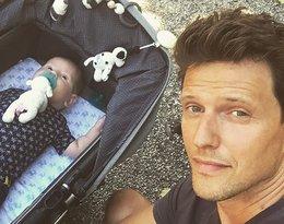 Sasha Knezevic, były mąż Anji Rubik, pokazał, jak wygląda jego syn Andrij