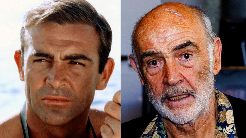 Sean Connery metamorfoza
