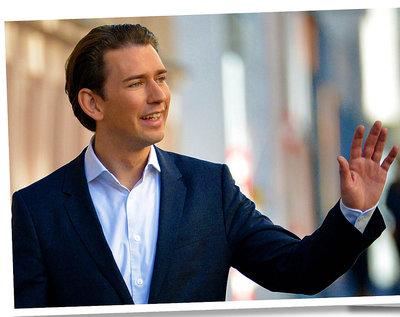Sebastian Kurz, kanclerz Austrii